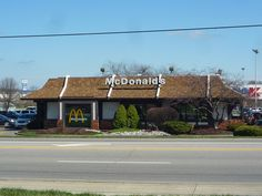 McDonalds In Harrison Ohio With Vintage Exterior X Find This Pin And More On IPad Air Wallpapers