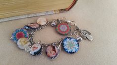 Angels! My first bracelets with resin charms.