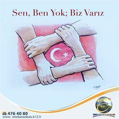 15 Temmuz Demokrasi Zaferi ve Şehitleri Anma Günü'nde aziz şehitlerimizi saygıyla anıyoruz.