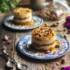 Ramadan Desserts, Ramadan Recipes, Fancy Desserts, Ramadan Food, Arabic Dessert, Arabic Sweets, Arabic Food, Unique Recipes, Sweet Recipes