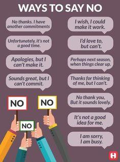 #selflove #selfcare: Ways to Say #No....