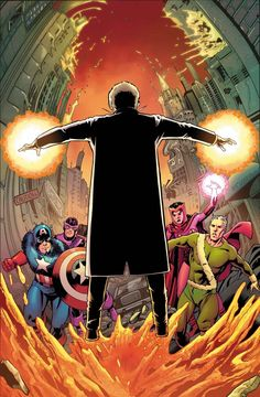 AVENGERS by Barry Kitson