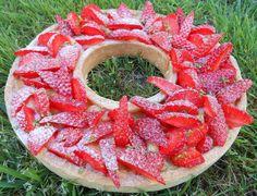 Tarte aux fraises saveur citron vert, pas cher