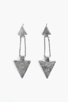 Double Arrow Earrings