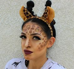 Image result for giraffe nose makeup