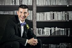 Groom in the Columbia Tower Club Library