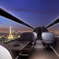 Get Panoramic Views From This Windowless Jet. /;)