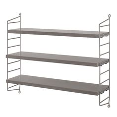 € 139 String Pocket is a lightweight shelf manufactured by the Swedish company String Furniture. String Pocket comes in fixed combinations consisting of 2 side panels and 3 shelves. Scandinavian Design, Decor, Bookcase, Storage Shelves, Furniture, Shelves, Wood Shelves, Shelving, Cool Walls