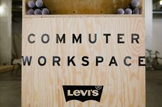 The Levi's Commuter Workspace in Los Angeles
