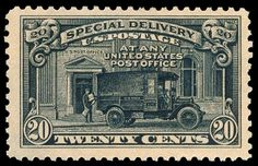 Find 1925 U. Twenty Cent Special Delivery in the Stamps (Postage Stamps) - United States - Used category in Webstore online auctions Old Stamps, Rare Stamps, Postage Stamp Design, Postage Stamps, Office Stamps, First Class Stamp, Postage Stamp Collection, Special Delivery, Old Coins