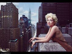 Annie Leibovitz Michelle Williams for Vogue 2011