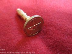 Petschaft mit Siegelstempel / mehr Infos auf: www.Guntia-Militaria-Shop.de
