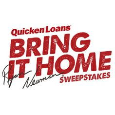 When #39 driver Ryan Newman brings home a top 5 finish, Quicken Loans will make a mortgage payment for 5 lucky fans. Ready, set, enter the Bring It Home Sweepstakes!