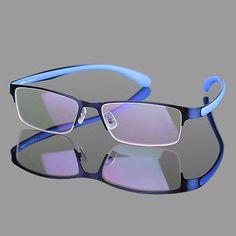 8b019981a8b 2016 Fashion Men Glasses frame Half rimless Eyeglasses frame Sport Style  Z-6797