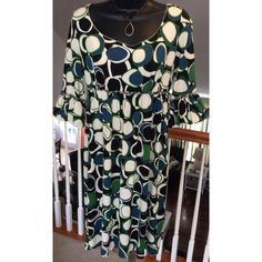 """Max Studio Dress Beautiful scoop neck dress with gathered sleeves. Measures 36"""" in length and 17"""" across the chest. Max Studio Dresses Midi"""