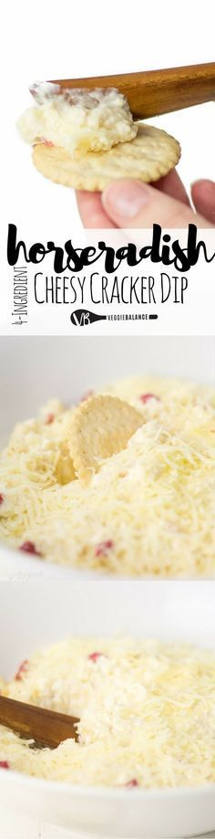 Horseradish Dip is a craveable cracker or cheese worthy treat made with cream cheese (or dairy-free cream cheese alternative). Quickly whipped together in under 10 minutes to serve with your cheese and cracker board. Horseradish fans, this is for you. (Gluten Free, Dairy-Free & Vegan friendly)