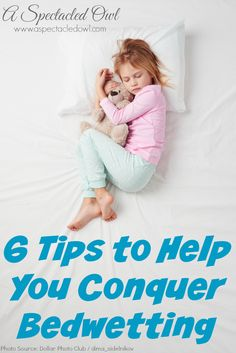 6 Tips to Help You Conquer Bedwetting AD #ConquerBedWetting