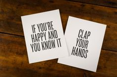 Happy and You Know It Prints on BourbonandBoots.com