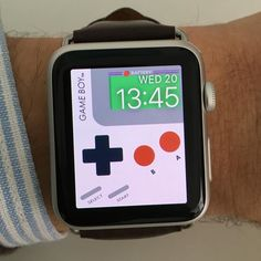 Nintendo GameBoy with battery notification. Browse and make beautiful Apple Watch Faces  Check website link in bio  #applewatch #applewatchface #applewatchfaces #applewatchcustomfaces #wallpaper #applewatchwallpaper #watchface #watchos2 #watchos #apple #applestore #appstore #iphone #iphone5 #iphone5s #iphone6 #iphone6plus #iphone6s #iphone6splus #ipad #iphoneonly #applewatchsport #applewatchedition #nintendo #gameboy by applewatchcustomfaces