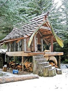 Cabin Designs: Build the Best Cabin for Your Lifestyle From logs to straw bales to metal, the materials you choose will play a determining ...