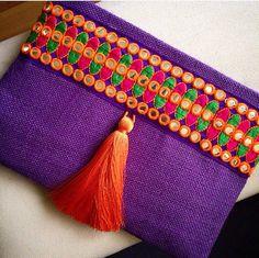 Bohemian Clutch, Boho Bag, Fashion Bag, Womens handbag, gift for her, Clutch purse, Ethnic Clutch, Handmade gift, Gypsy Clutch