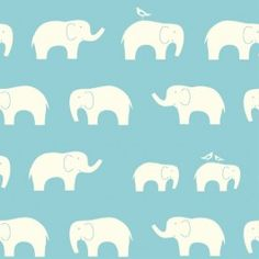 Birch Organic Fabrics, DOUBLE GAUZE, Ellie Fam Shroom, Fabricworm brings you the best in modern fabric! Mint Blue, Teal Green, Stiles, Teal Fabric, Cotton Fabric, Retro Fabric, Elephant Fabric, Family Pool, Elephant Family