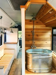 Expand your dream bus with Blue Ridge Conversions - RV Mods - RV Guides . - Expand your dream bus with Blue Ridge Conversions – RV Mods – RV Guides …, build - School Bus Tiny House, School Bus Camper, School Buses, Bus Living, Tiny House Living, Gypsy Living, Living Room, Casas Trailer, Bus Remodel
