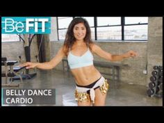 (8) Belly Dance Cardio Workout for Weight Loss: Leilah Isaac - YouTube