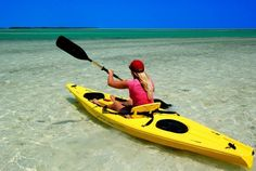 how to kayak  from shore