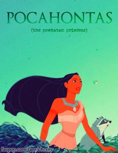 Pocahontas-The-Powhatan-Princess