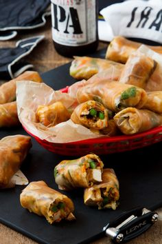 Bicycle Spring Rolls