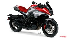 The Suzuki Katana has long been hailed as one of the best motorcycles that has ever come along. The original version first graced the streets during the Cafe Bike, Bmw Cafe Racer, Triumph Motorbikes, Katana, Sport Bikes, Automobile, My Favorite Things, Vehicles, Naked