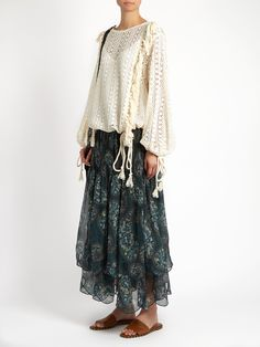 Crochet-lace top   See By Chloé   MATCHESFASHION.COM US