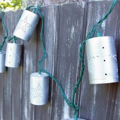pierced tin can lights - Google Search