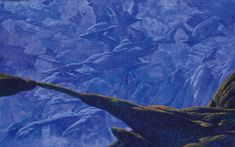 Juxtapoz Magazine - Roger Dean's Science Fiction Landscapes