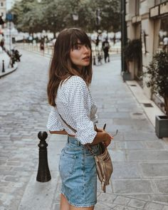 25 Top Looks Hairstyles for spring and summer : Creative Vision Design Style Outfits, Summer Outfits, Casual Outfits, Cute Outfits, Fashion Outfits, Fashion Tips, Fashion Hacks, Fashion Trends, Paris Mode