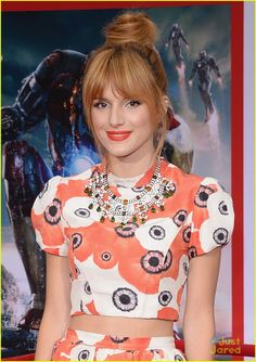 bella thorne iron man 3 premiere 03, Bella Thorne hits the red carpet at the premiere of Iron Man 3 held at El Capitan Theatre on Wednesday night (April 24) in Hollywood.    The 15-year-old actress…