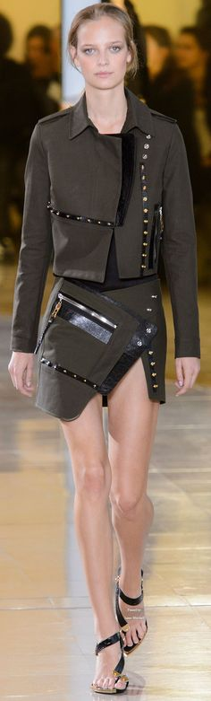 Anthony Vaccarello Collection Spring 2016 Ready-to-Wear