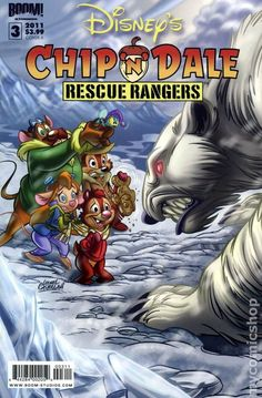 Chip n Dale Rescue Rangers (2010 Boom Studios) 3A
