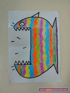 Animal crafts, art plastique, diy for kids, projects for kids, art projects Kids Crafts, Summer Crafts, Projects For Kids, Diy For Kids, Art Projects, Arts And Crafts, Kids Fun, Paper Art, Paper Crafts