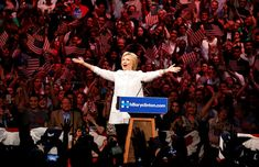 Hillary Clinton at a rally in New York City on June 7. The 46 Most Powerful Photos Of 2016