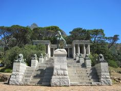 Rhodes Memorial, Cape Town, South Africa.