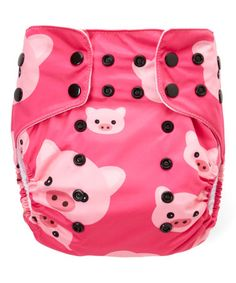 This Pink Pig Pocket Diaper is perfect! #zulilyfinds