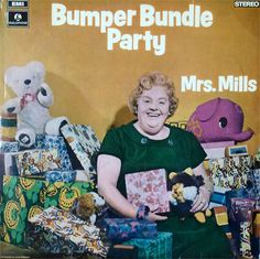 """Mrs. Mills, """"Bumper Bundle Party"""" (1970)."""
