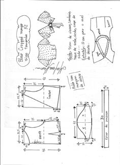 Easy Sewing Patterns, Clothing Patterns, Fashion Sewing, Diy Fashion, Diy Clothes Design, Costura Fashion, Do It Yourself Fashion, How To Make Clothes, Mode Inspiration