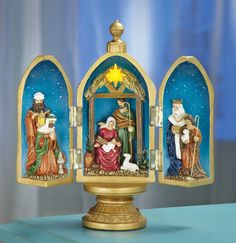 Christmas Nativity Egg Tabletop Decoration