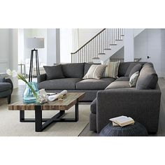 Seguro Square Coffee Table in Coffee Tables & Side Tables | Crate and Barrel