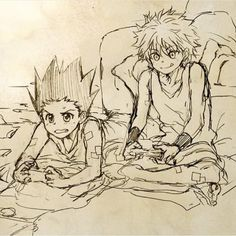 Hunter x Hunter | HXH | Killua | Zoldyck | Gon Freecss | Anime