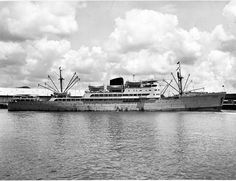MV India, a refrigerated passenger cargo liner built by Bartram's of Sunderland for Companhia Nacional de Navegação, of Lisbon. Portugal & completed 02/51. Ran from Lisbon via Suez & Aden to Mormugoa(Goa), Singapore, Hong Kong, Macao & Dili(portugese Timor). Sold in '73 to Guan Guan Shipping & renamed  MV Kim Hock tp run  Penang & Singapore to Whampoa. In '78(?)  suffered major engine damage & owners decided to have her scrapped in Taiwan rather than repair her.