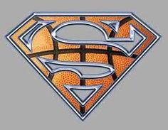Basketball is my super hero. :) change background to the sun and the s out of clouds and say Jesus is my superhero